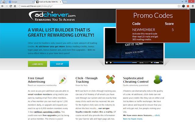 TrafficCodex Promo Code Finder
