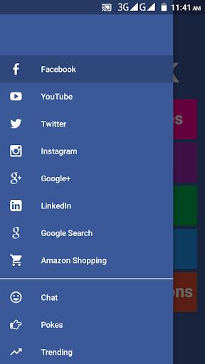 Screenshot for Febu PRO for Facebook & Messenger - All Social Net in Hong Kong Play Store