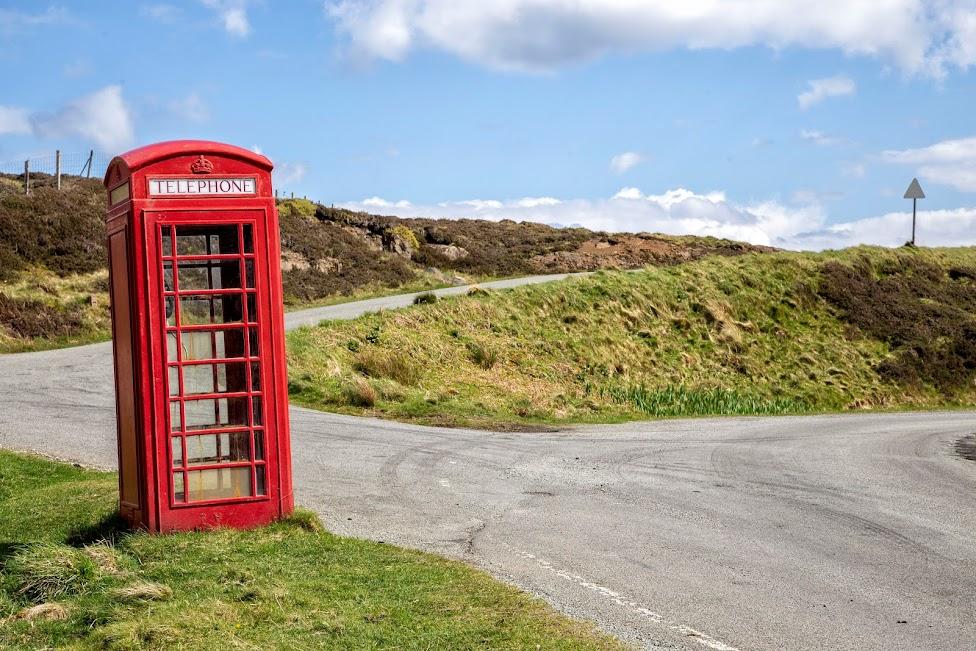 Szkocja, budka telefoniczna