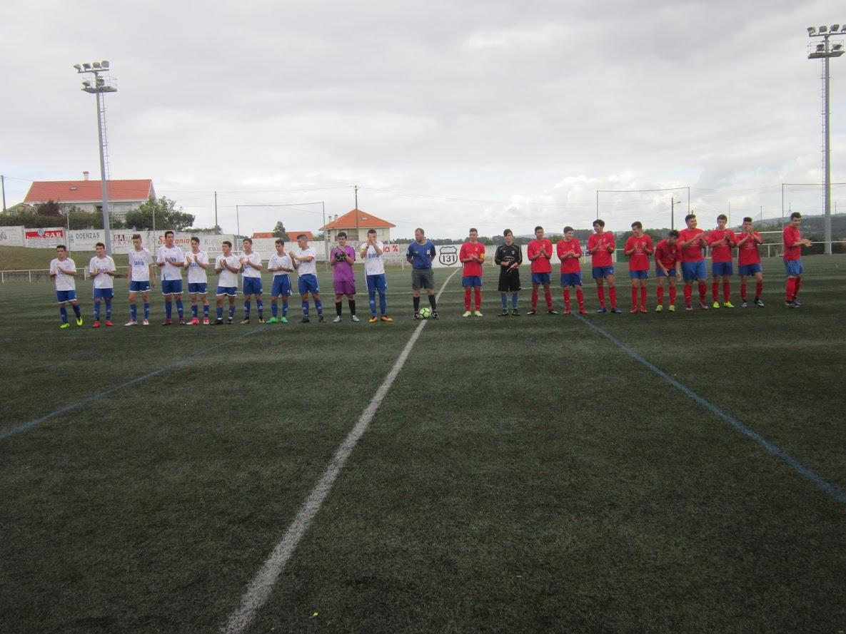 ADR Numancia de Ares. Juveniles 2017-2018. Numancia, 3 - Cariño, 0. Prados Vellos