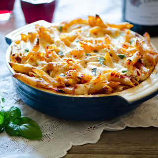 Baked Penne Vodka.