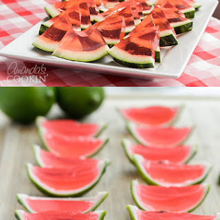 Watermelon Jello Shots – 2 Ways.