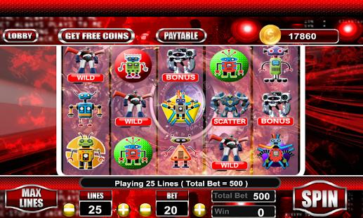 Tobot 777 Slots Machines - náhled