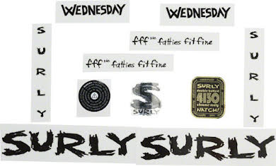Surly Wednesday Decal Set alternate image 0