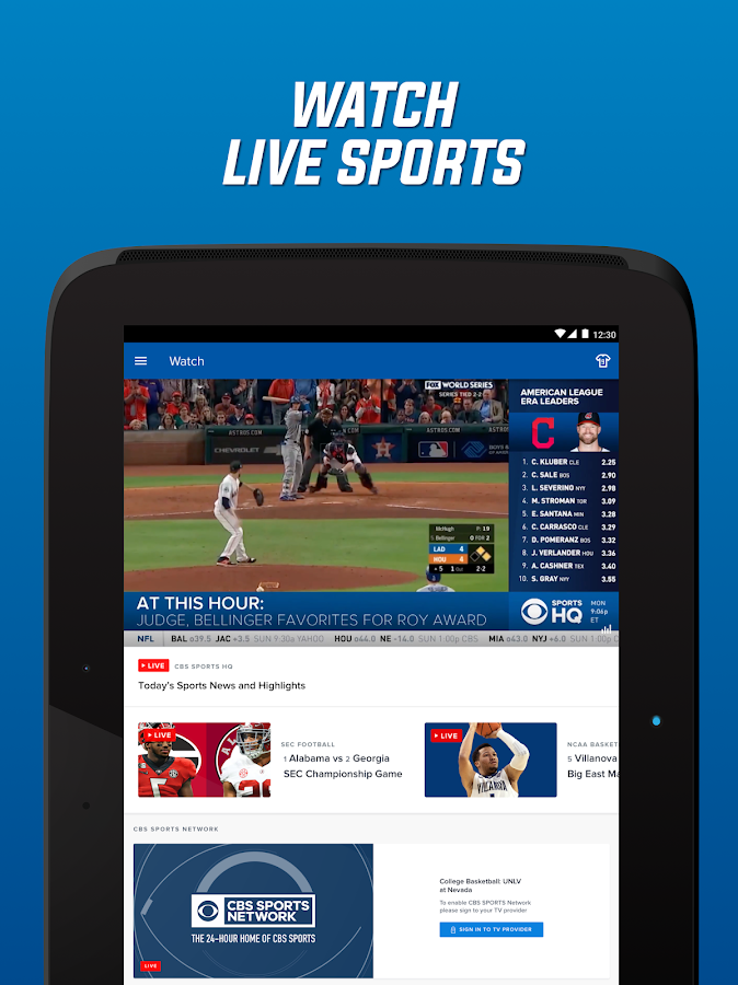 CBS Sports App - Scores, News, Stats & Watch Live ...
