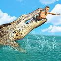 Hungry Crocodile Wild Hunt Simulation Game icon