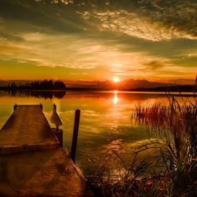 The Sunset by Joseph Law - Landscapes Sunsets & Sunrises