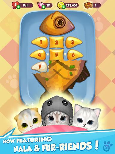 Kitty Snatch - Match 3 ft. cats Monty & Nala Cat  screenshots 7