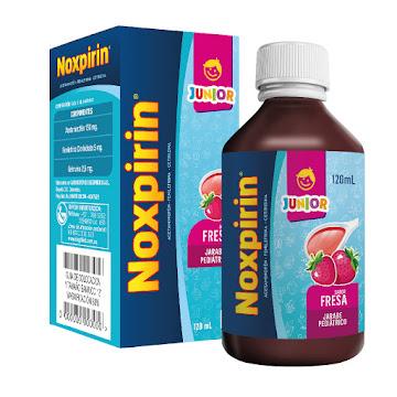 Noxpirin-F Junior Fresa   Jbe.Fco.x120Ml. SIE Acetaminofén Fenilefrina