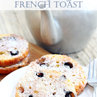 Blueberry Muffin French Toast Recipes