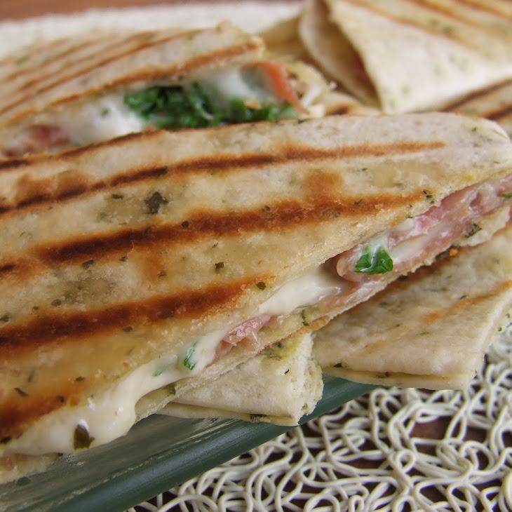 Ham and Parsley wraps