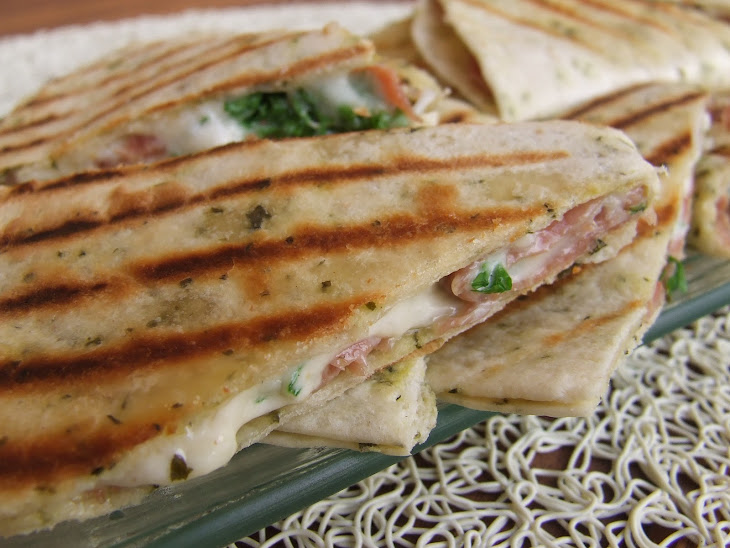 Ham and Parsley Wraps Recipe