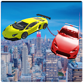 Flying Chained Cars 3D
