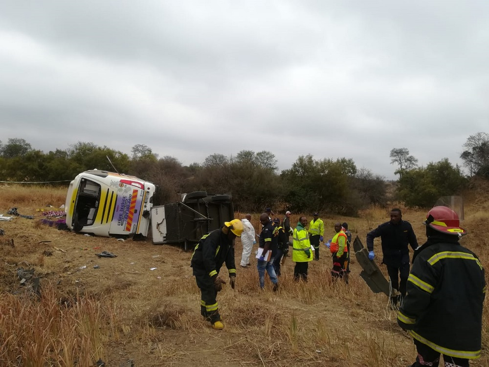 Limpopo bus crash driver caught trying to flee SA