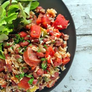 Cajun Sausage, Beans & Rice Recipe