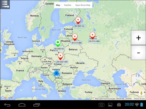GPS Tragau010d  screenshots 9