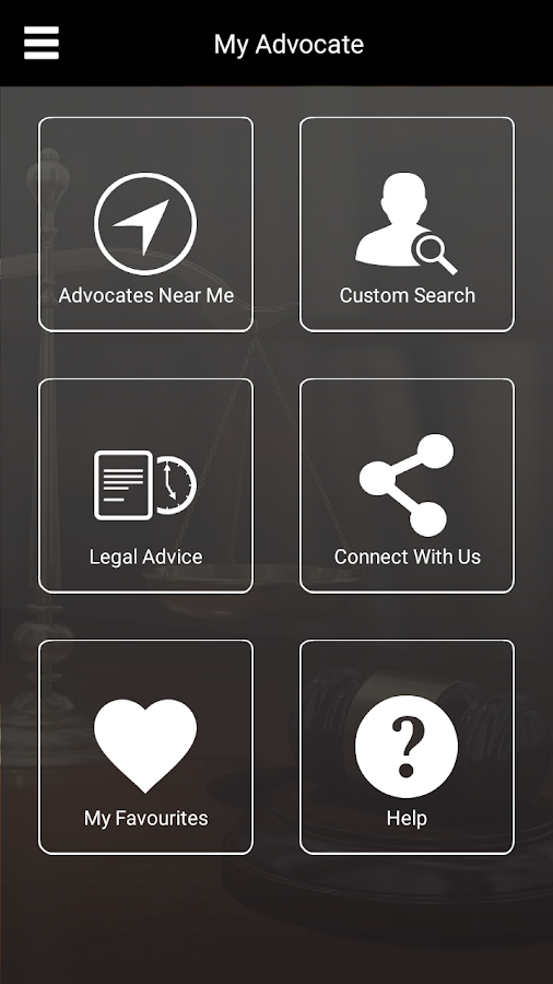 Advocate- screenshot