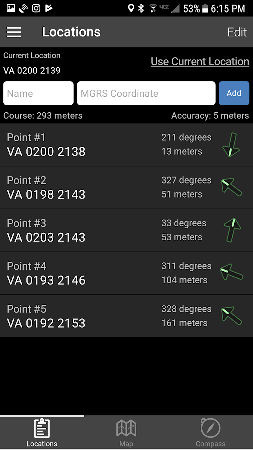 Land Nav Assistant- screenshot