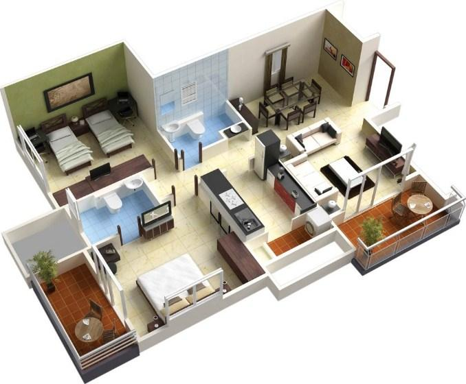 3d house floor plans android apps on google play for Home design 3d 5 0 crack