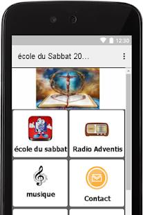 Ecole Sabbat 2017 - náhled