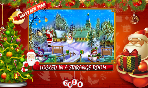 Free New Escape Games 41-Winter Secret Room Escape apkdebit screenshots 1