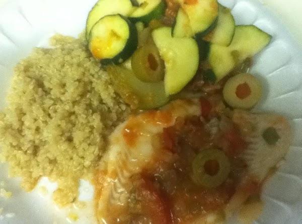 Quinoa (cooked In Garlic-chicken Broth) Recipe