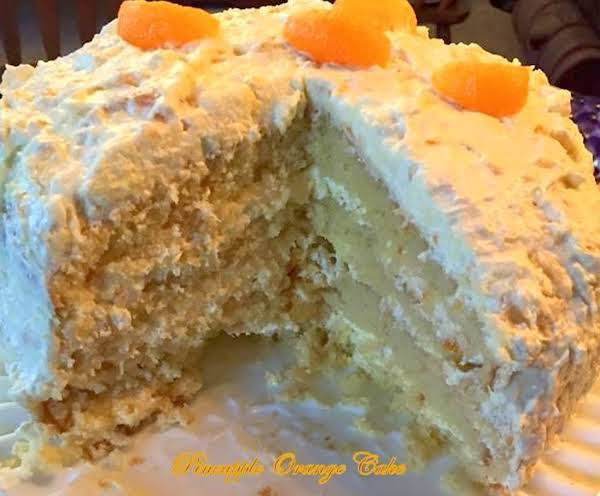 ~ Pineapple Orange Cake ~ Recipe