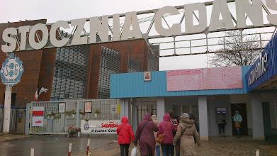 Photo: Brama do Stoczni Gdańskiej i Centrum Solidarności