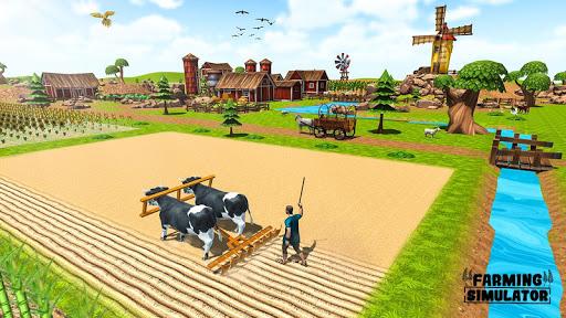 Super Village Farmer's Vintage Farming apktreat screenshots 1