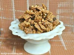 Cinnamon Toffee Chex Mix Recipe