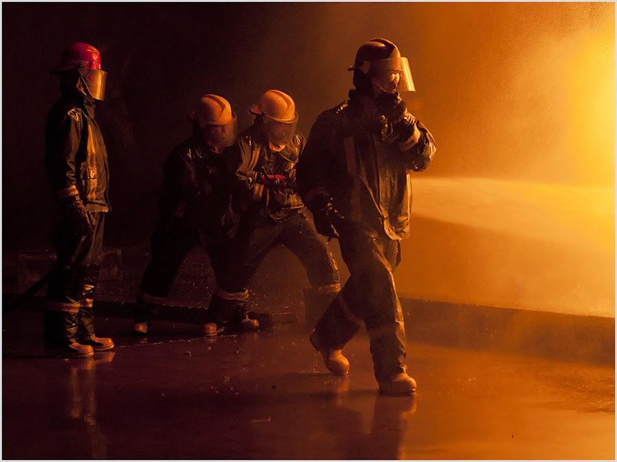 Team work by Jatie Van Der Walt - People Group/Corporate ( firemen )