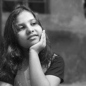 The girl with a vision... by Sinha Debasis - People Portraits of Women