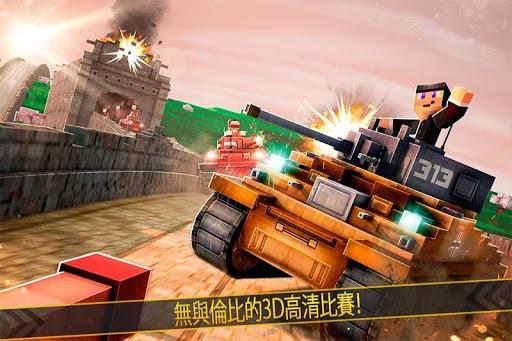 坦克戰爭 3D 射擊 模擬器