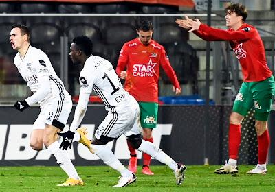 KV Oostende KAS Eupen spelen gelijk