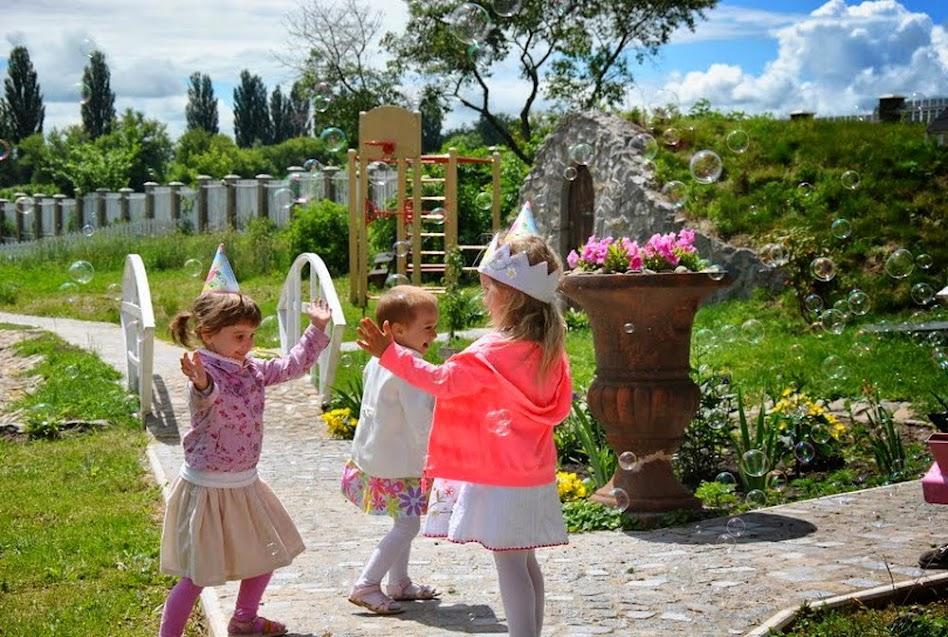 Детские дни рождения под Киевом