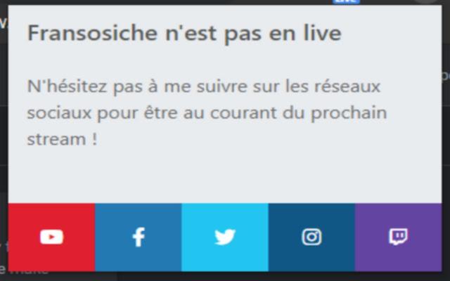Extension Twitch de Fransosiche