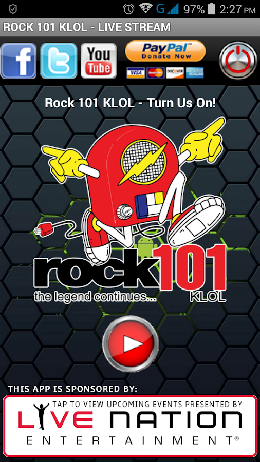 Rock 101 KLOL- screenshot