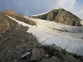 Photo: About to get on the Gooseneck Glacier.
