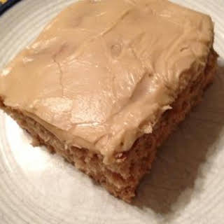 Apple Spice Cake / Brown Sugar Frosting - So Easy.