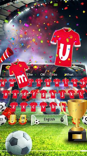2018 Football Shoot Keyboard 10001002 screenshots 1