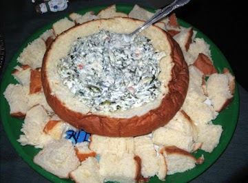 Spinach & Cheese Dip Recipe