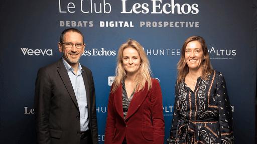Club Les Echos Digital avec Denis Machuel, Belen Moscoso Del Prado et Cécile Maisonneuve