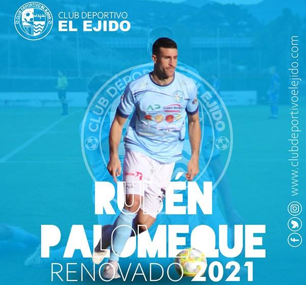 Rubén Palomeque seguirá sumando en el CD El Ejido.