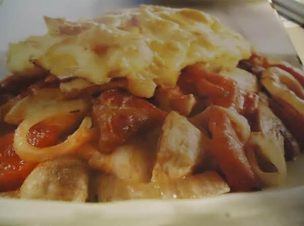 Norma's Turkey And Mushroom Casserole