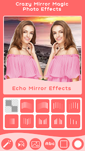 Crazy Mirror Magic Effect - Mirror Photo Effect - náhled