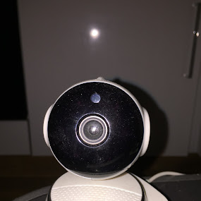 Just my security camera  by Darran Strutt - Uncategorized All Uncategorized