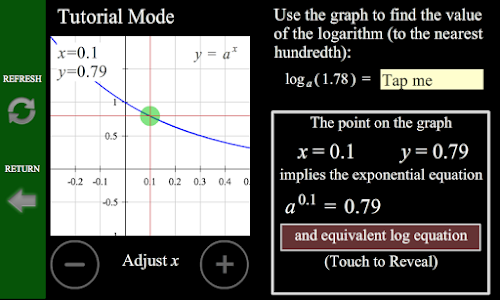 Logarithm/Exponential Tutor screenshot 2