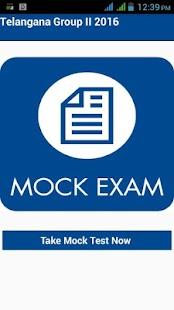 Tspsc Group II Mock Test 2016 - náhled