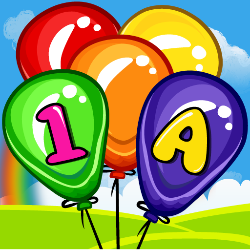 Balloon Pop Kids Learning Game Free for babies