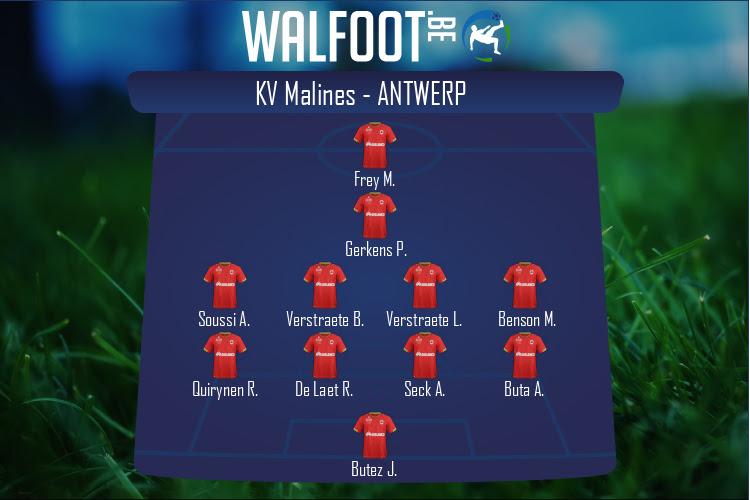 Antwerp (KV Malines - Antwerp)